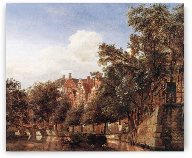 View of the Herengracht, Amsterdam by Jan van der Heyden
