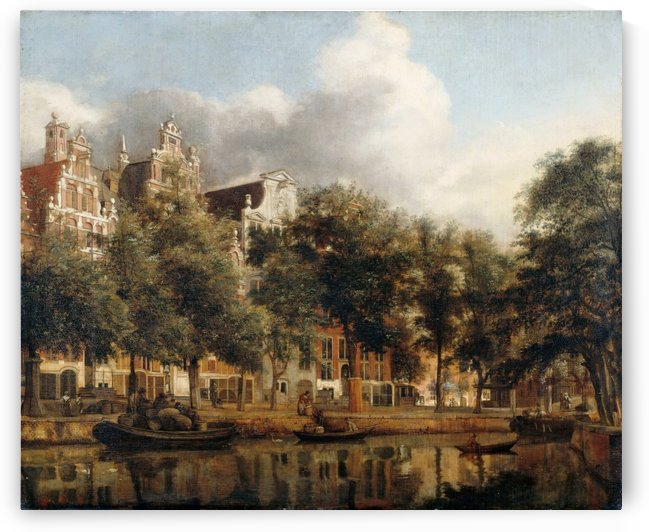 View of the Herengracht by Jan van der Heyden