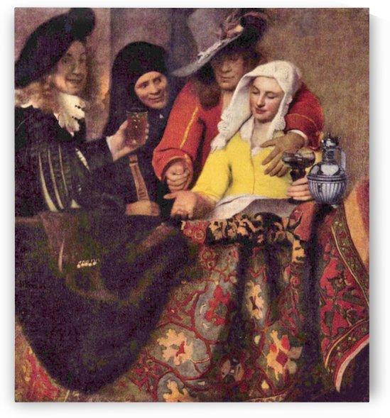 Kupplerin by Vermeer by Vermeer