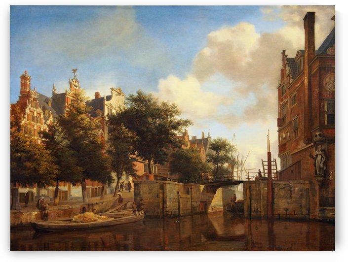 Herengracht by Jan van der Heyden