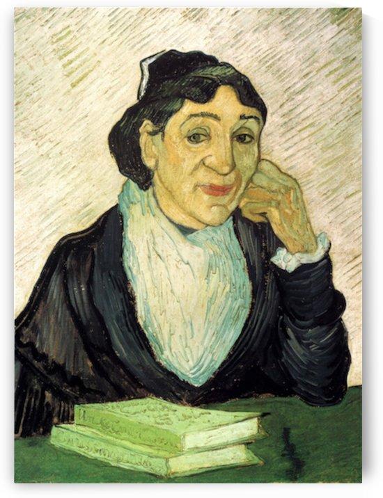 L Arlesienne Madame Ginoux by Van Gogh by Van Gogh