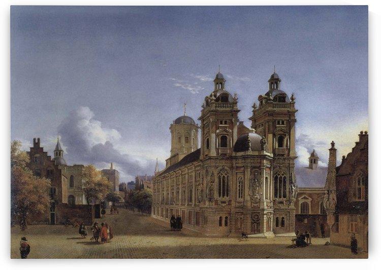 Church Square by Jan van der Heyden