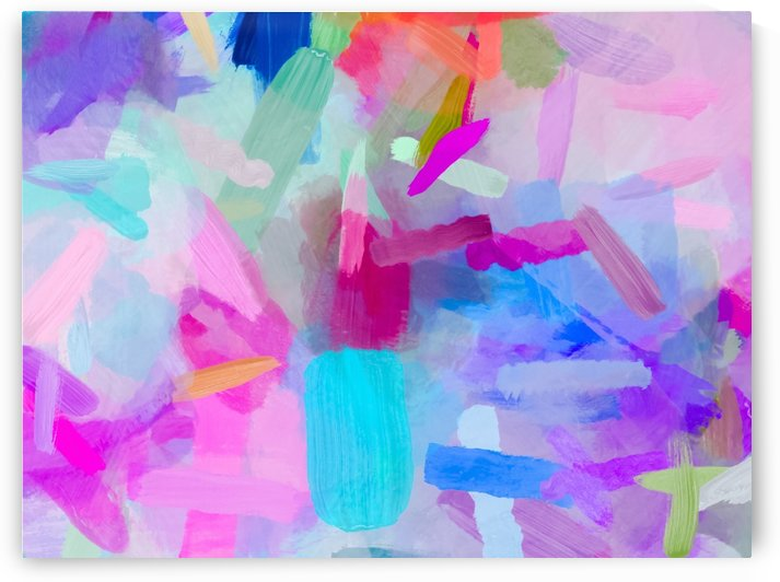 splash painting texture abstract background in pink blue purple by TimmyLA