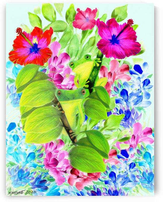 Frog Garden 2 by Natasha McGhie