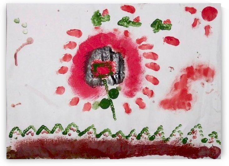 Myona red flower by AspireSTAR