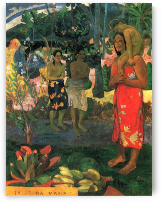 La Orana by Gauguin by Gauguin