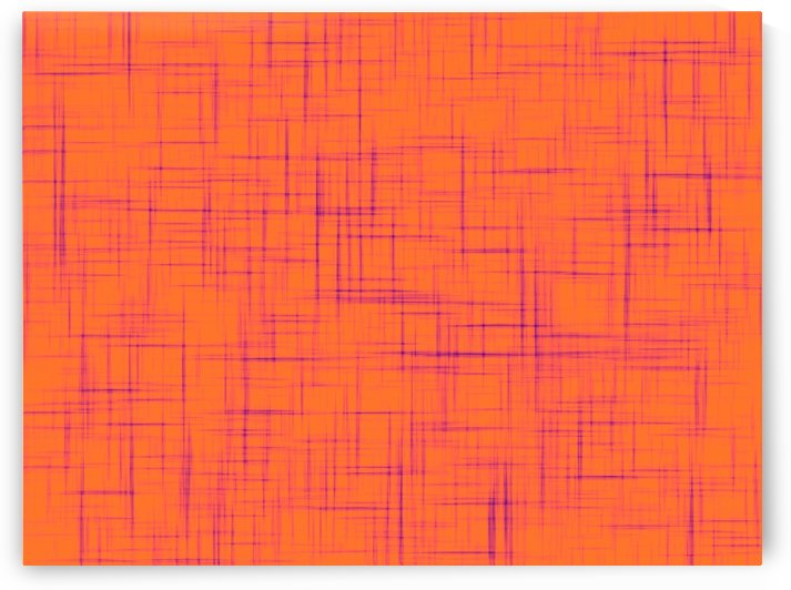 geometric square line pattern abstract background in orange and purple by TimmyLA