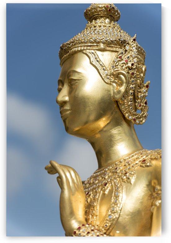 Kinnorn Kinnara Statue Bangkok by Petr Svarc