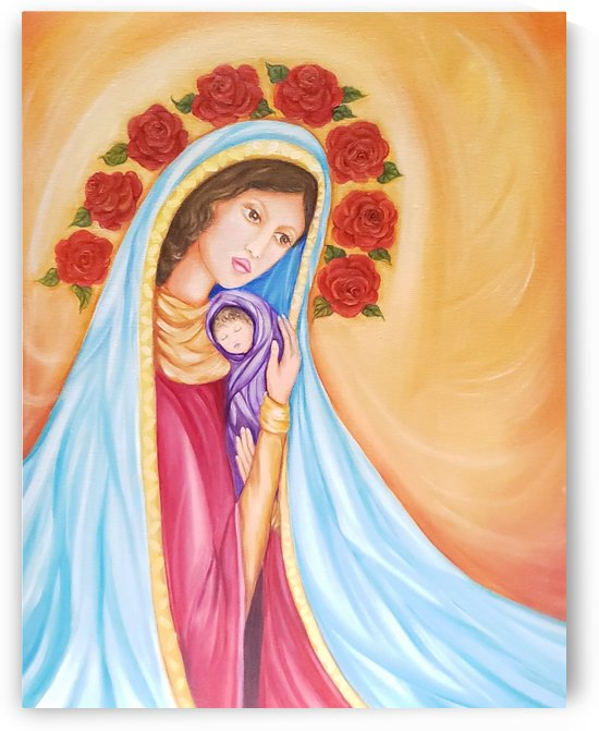 Virgin Birth by Norma Roman Creations