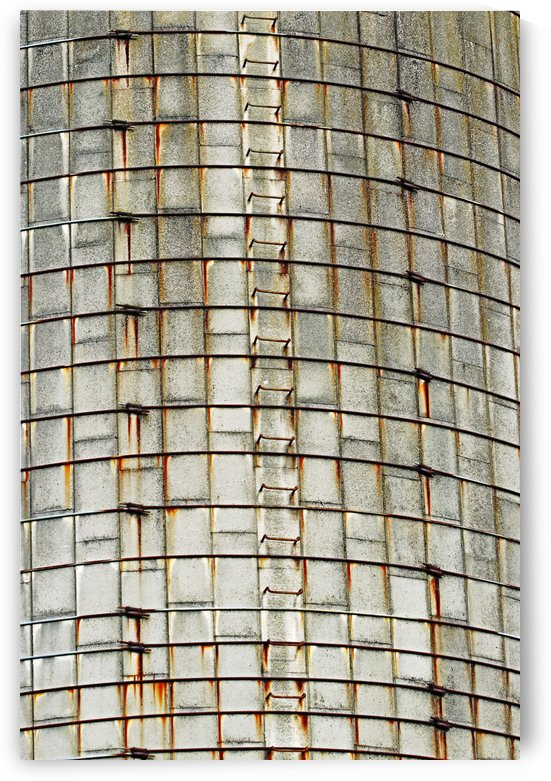 Tower Silo Abstract by Deb Oppermann