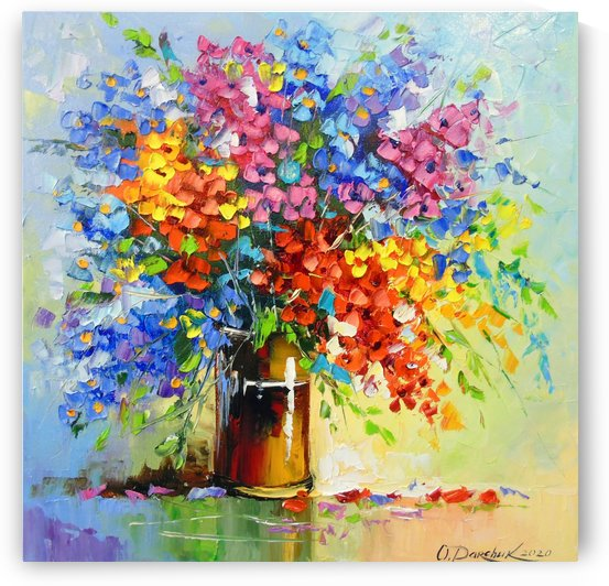 A bouquet of wildflowers by Olha Darchuk