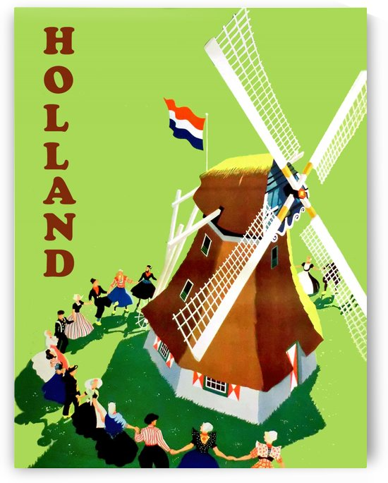 Holland Windmill by vintagesupreme