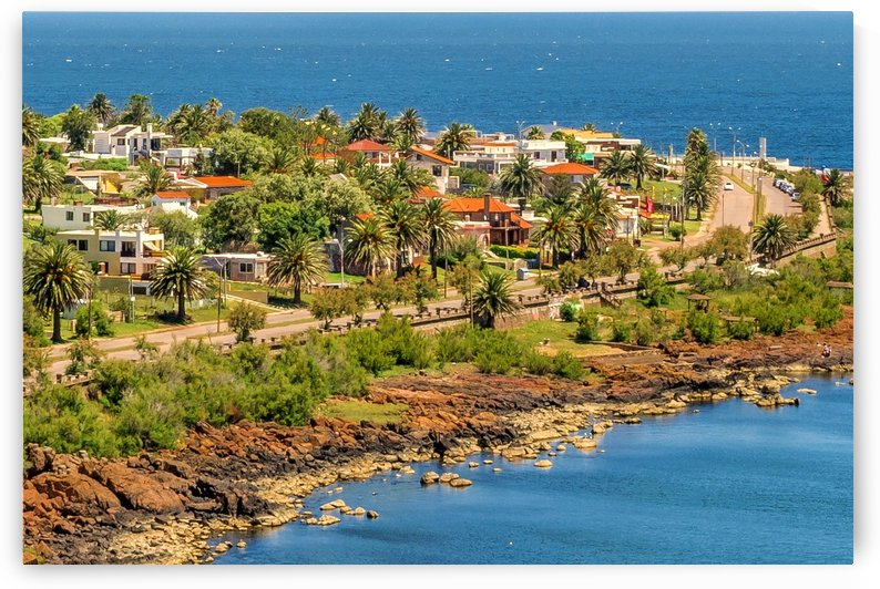 Punta Colorada Aerial Landscape Scene Uruguay by Daniel Ferreia Leites Ciccarino