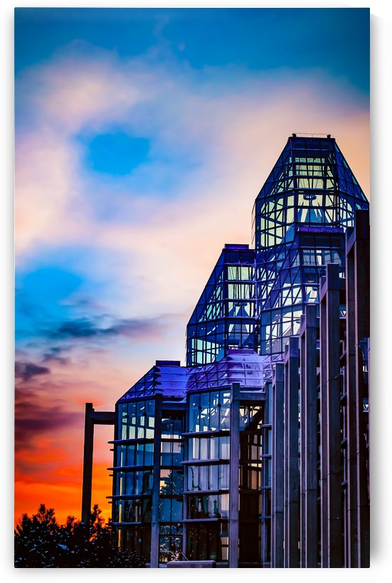 Sunset at the National Gallery of Canada by MumbleFoot