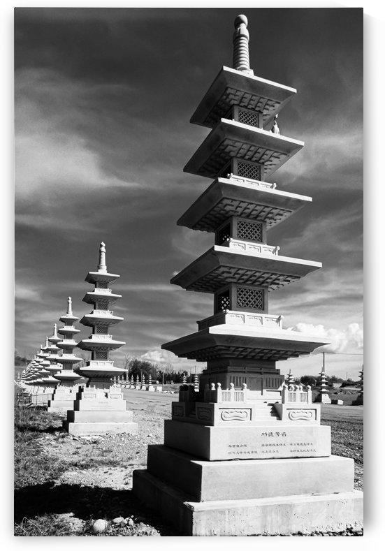 Vanishing Towers of Wutai Shan by MumbleFoot