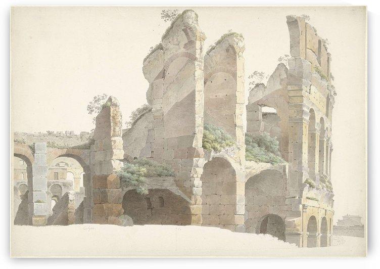 Het Colosseum te Rome by Josephus Augustus Knip