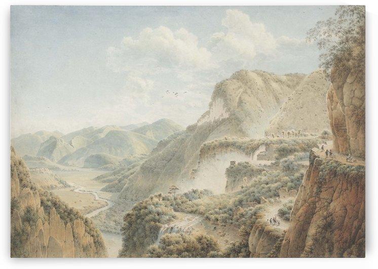 Landschap nabij Terni by Josephus Augustus Knip