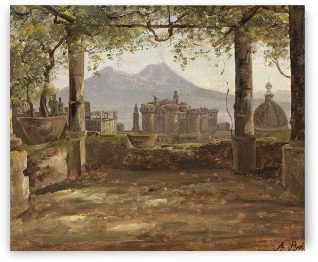 View of Munchen by Antonie Sminck Pitloo
