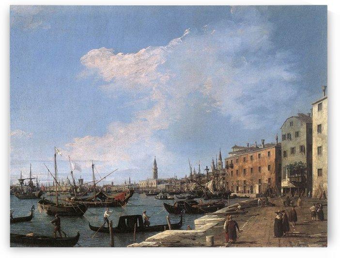 The Riva degli Schiavoni by Canaletto