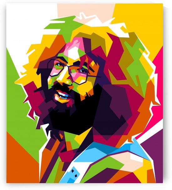 Jerry Garcia Grateful Dead by wpaprint