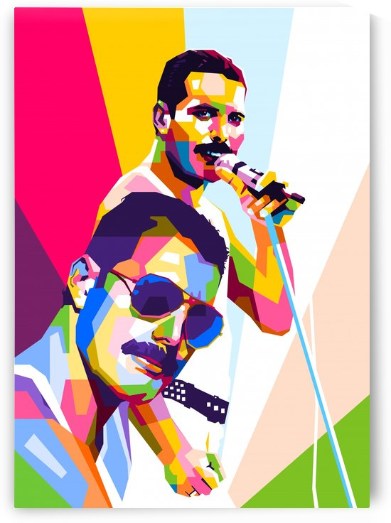 Freddie Queen Mercury by wpaprint