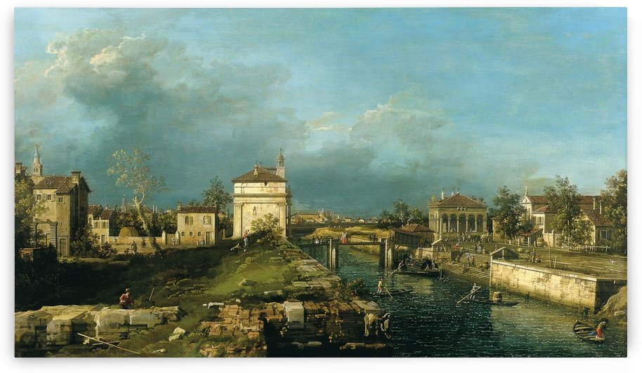 Porta Portello, Padua by Canaletto