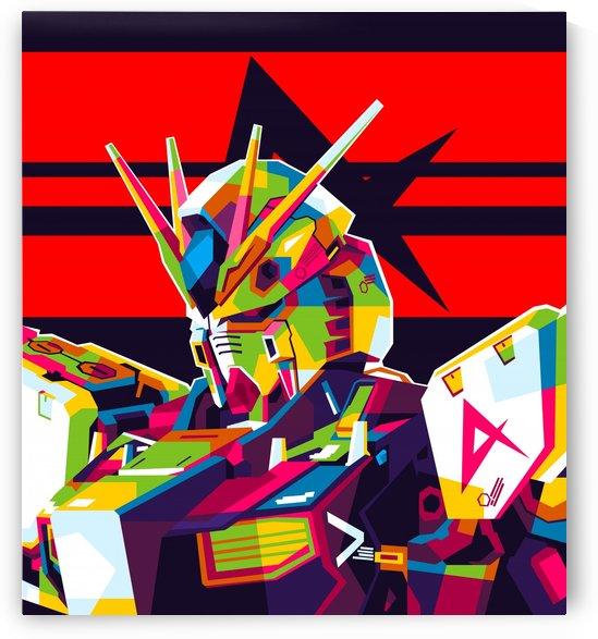 Rx-93 v Gundam NU Gundam by wpaprint