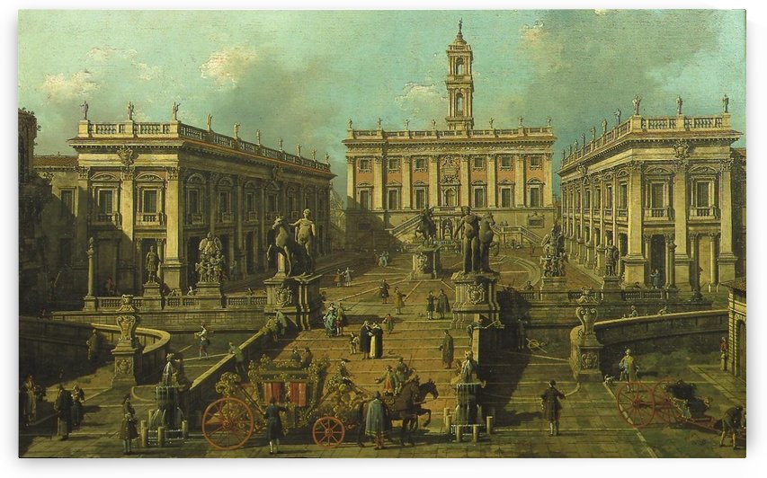 View of Rome by Canaletto