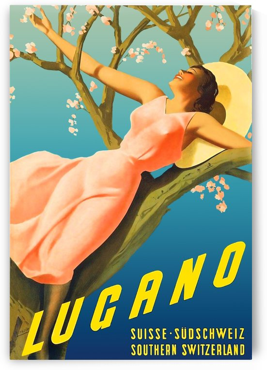 Spring in Lugano by vintagesupreme