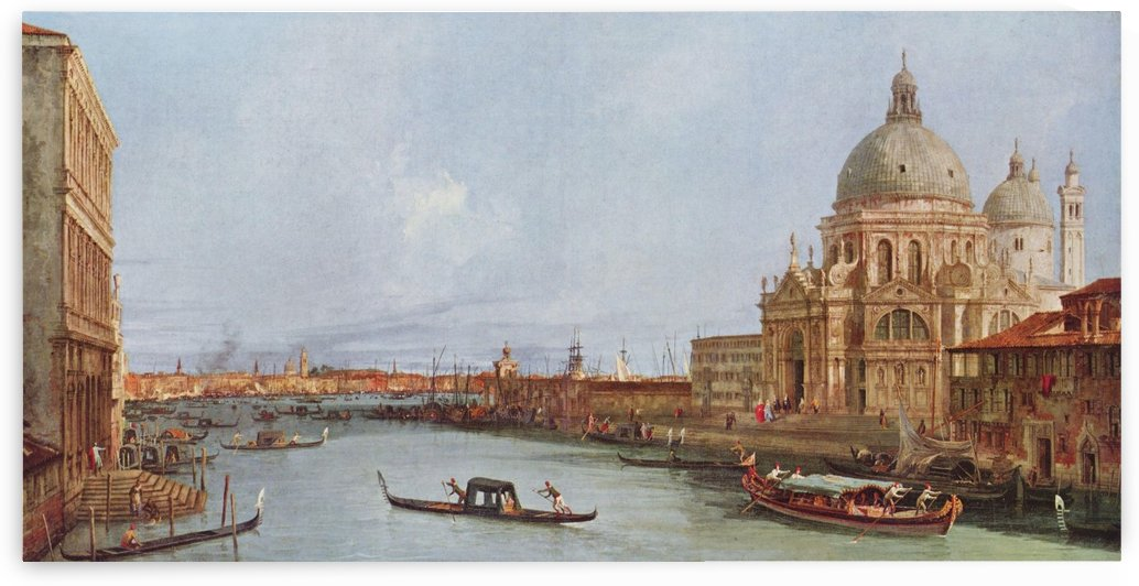 Sight of St Mark by Canaletto