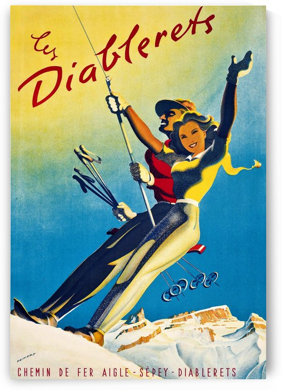 Skiing on Les Diablerets by vintagesupreme