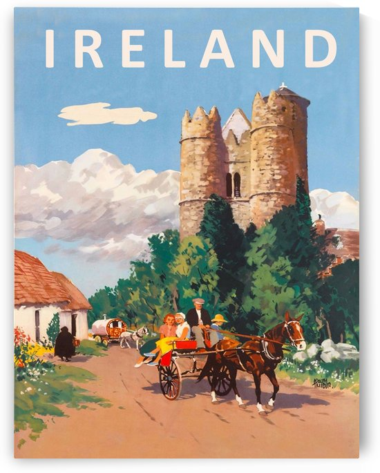 Village in Ireland by vintagesupreme