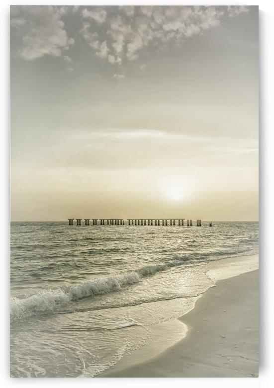 Gasparilla Island Sunset | Vintage by Melanie Viola