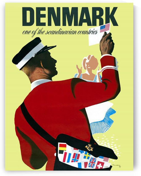 Denmark Postman by vintagesupreme