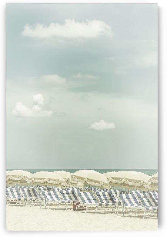 Vintage beach scene  by Melanie Viola
