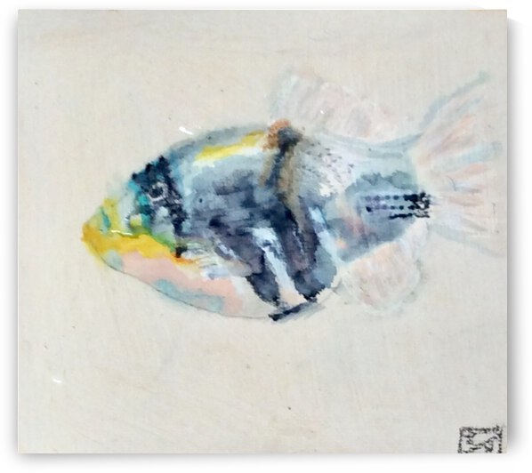 Picasso Fish by Zaramar Paintings