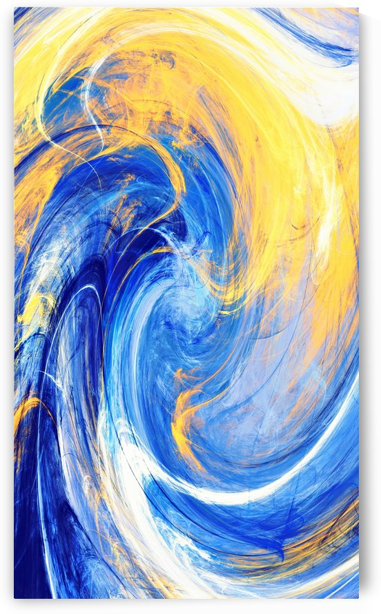 ABSTRATO FRACTAL   70X120   03A by Uillian Rius