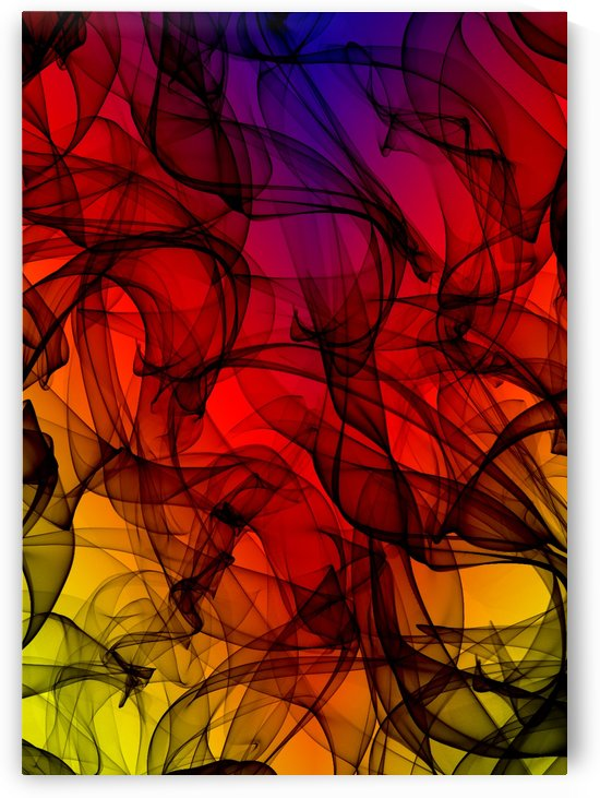 ABSTRATO FRACTAL   130x182   05 05 2020    07B by Uillian Rius