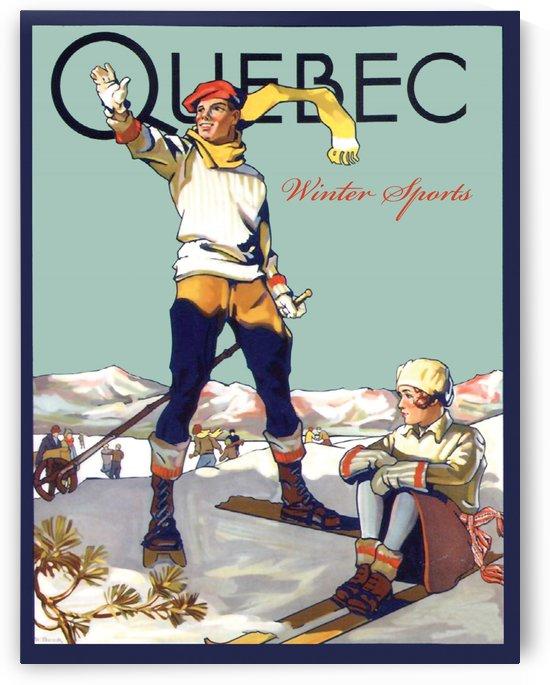 Winter Sports in Quebec by vintagesupreme