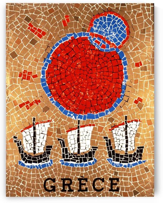 Greece Mosaic by vintagesupreme