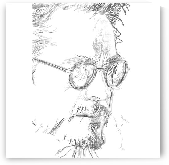 Robert Downy Jr. - Celebrity Pencil Art by Art Lover