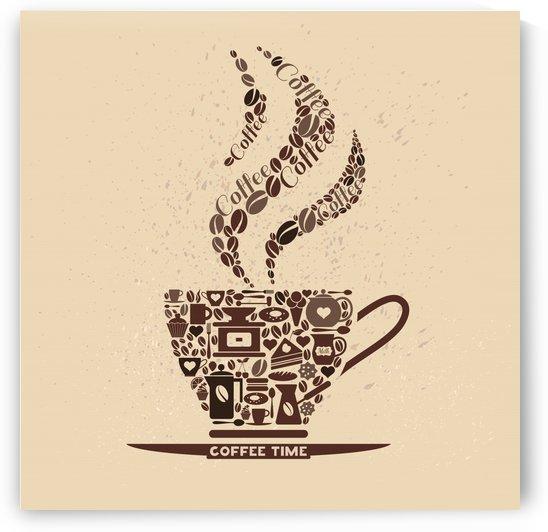 CAFÉ ABSTRATO   150X150   25 06 2020    02A by Uillian Rius