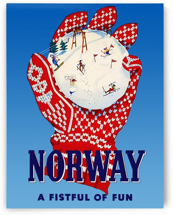 Norway Fistful of Fun by vintagesupreme