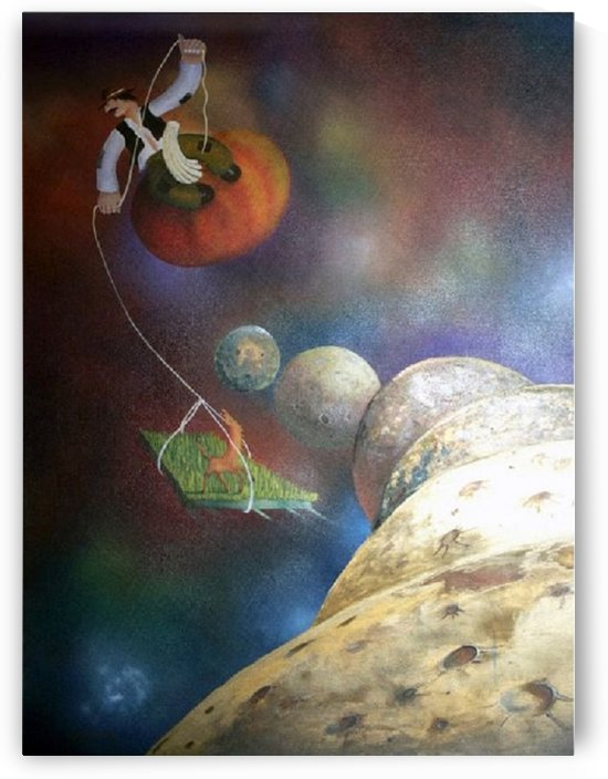 The Universe by Dudi Berkowitz Chicago