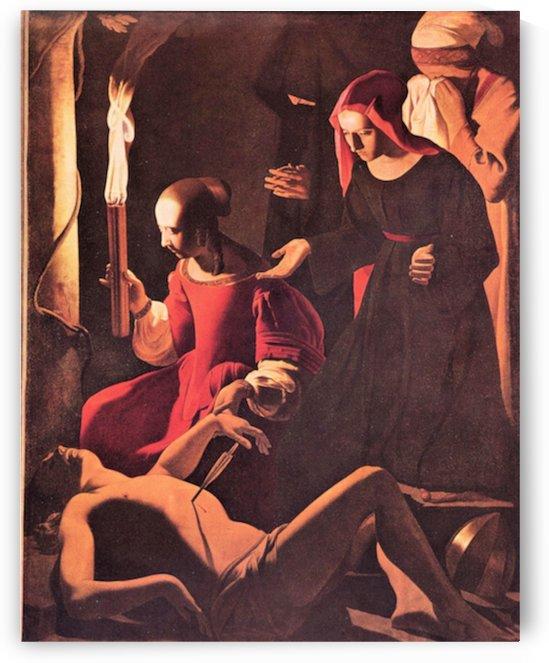 Lamentation of St. Sebastian by Irene -1- by La Tour by La Tour