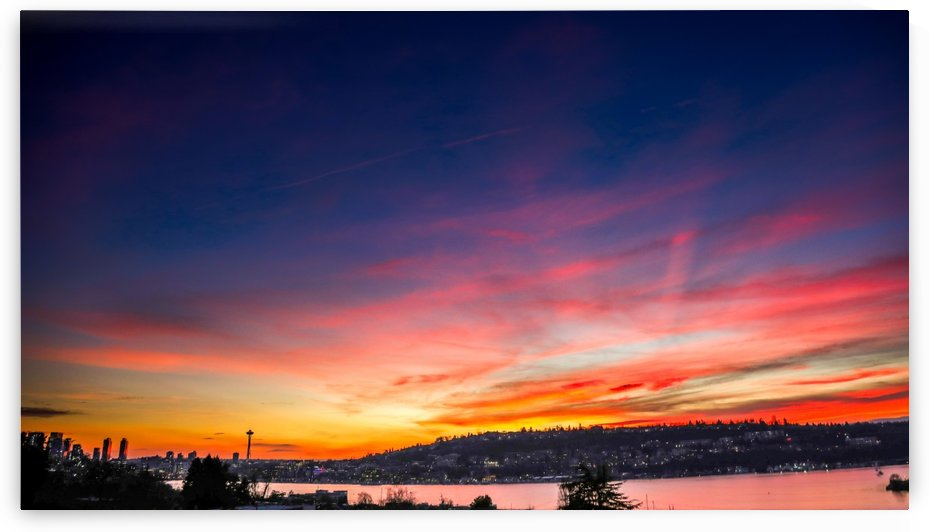 Seattle Sunset by ND_PHOTOGRAPHY