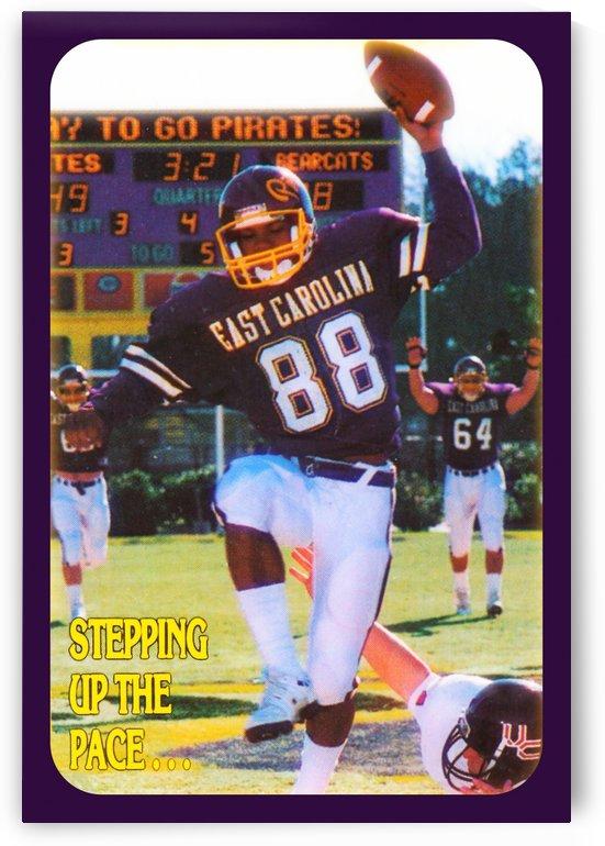 1988 east carolina football by Row One Brand