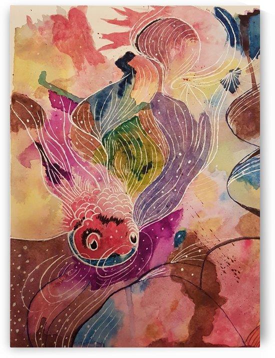 Carp abstract by Shankar Kashyap