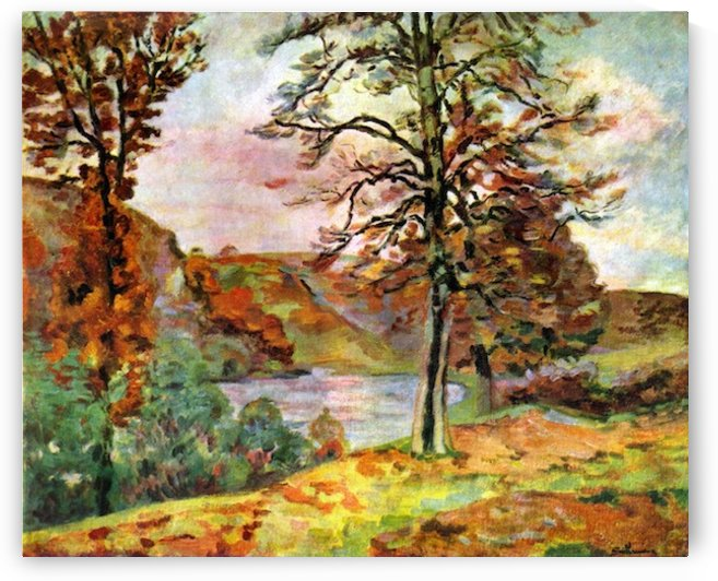 Landscape by Guillaumin by Guillaumin