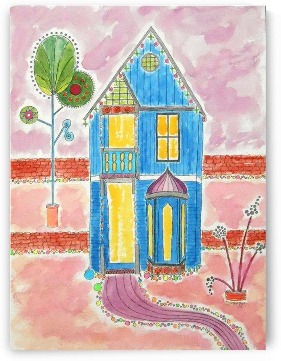Happy Gingerbread by Jayne Somogy